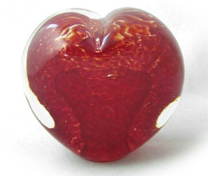Memory Glass Cremation Memorial Heart