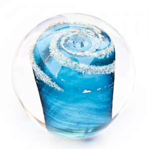 Memory Glass Orb Aqua